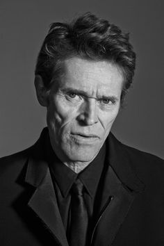Willem Dafoe photographed by Tim Barber Platoon, Last Temptation of Christ, Wild at Heart. And Finding Nemo.
