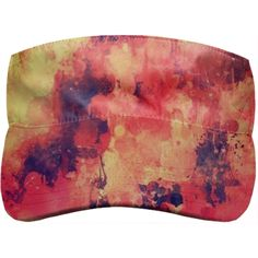 Shop CELEBRATION 101 Visor by THE GRIFFIN PASSANT STREETWEAR (STREETWEAR) | Print All Over Me