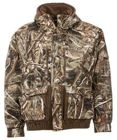 Drake Waterfowl Systems LST Eqwader 3-in-1 Plus 2 Wader Coat 2.0 for Men - Realtree Max-5 - 2XL