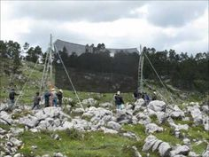 Building a Large Fog Collector (LFC) ~ FogQuest's Guatemala Project