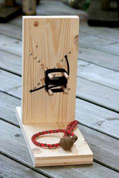 Paracord Monkey Fist Jig | Swiss Paracord