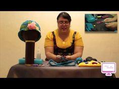 Show Manual 204 (Estambres/Crochet Diadema con Flor)