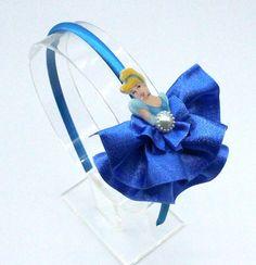 Disney Cinderella Dress Headband, Cinderella, Disney, Headband, Hair Accessories, Disney Hair Accessories, Party, Royal, Blue