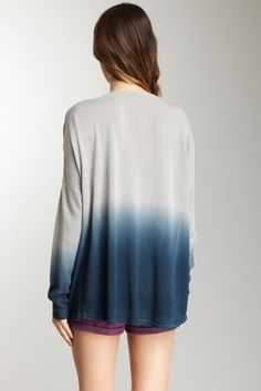 Gentle Fawn Message Long Sleeve Top