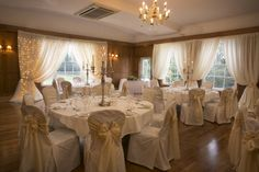 The Dunadry Bistro; perfect for small, intimate weddings.  http://www.classicbritishhotels.com/hotel/dunadry/