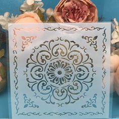 Cutout Layering Stencils DIY Scrapbooking Stamping Embossing Card Cake Mold x3