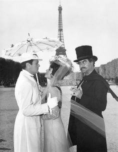 Publicity shot for 'The Great Race', 1965. Starring Tony Curtis, Natalie Wood & Jack Lemmon.