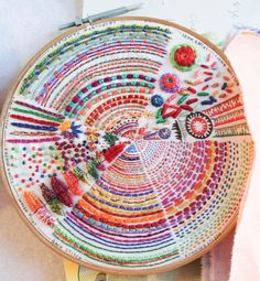 Modern Embroidered Sampler with Rebecca Ringquist - Monday, April 20th at A Verb for Keeping Warm (Oakland, CA)