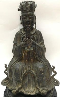 51BidLive-[Chinese bronze immortal (Ming dynasty)]