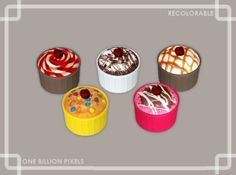 One Billion Pixels: Christmas Gift Part 5 (Edible Cherry Dessert)