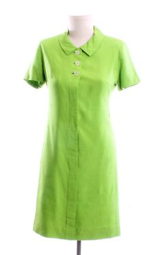 Georgia Bullock Vintage Lime Green Dress 1960's by LondonCouture, $39.00 #st patricks day