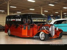 Custom Built 1932 Ford Bus - Old Bus