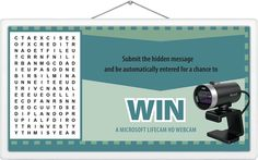 In preparation for #tax season we are giving away a Microsoft Lifecam HD Webcam! Just play our #taxtips word search and submit the hidden message to be automatically entered in the draw. #Contest is valid until March 31st, 2014!
