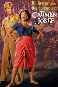 carmen jones movie | Carmen Jones (movie) Poster Art