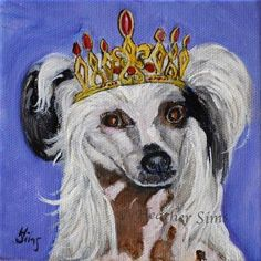 "Daily Paintworks - ""Coronation: King Buttercup"" by Heather Sims"