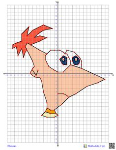 Phineas and Ferb coordinate grids. (Along with many others)  We're nowhere near 4 quadrant graphing yet, but this is so cool!  :)