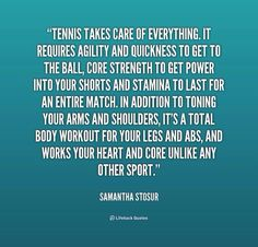 This quote explains everything that most people don't understand about tennis Tennis Rules, Tennis Tips, Tennis Match, Play Tennis, Sport Tennis, Serena Williams Quotes, Matching Quotes, Athlete Quotes, Tennis Photos