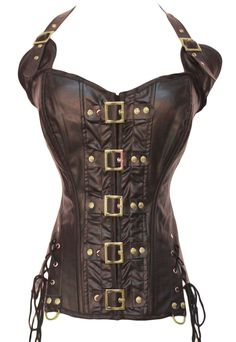 The Violet Vixen - Sparrow's Rum Brown Corset, $54.99 (http://thevioletvixen.com/corsets/sparrows-rum-brown-corset/)