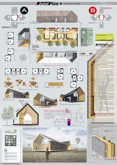Arch. Michele Bollini Dynamic Architecture, Stairs Architecture, Concept Architecture, Architecture Design, Modern Barn House, Modern House Plans, Cabin Design, House Design, Tiny Loft