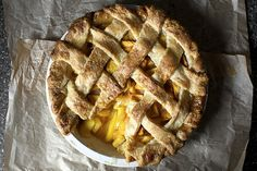 Smitten Kitchen - peach pie                              …