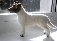 needle felted jack russell terrier 'Mouse' | Flickr - Photo Sharing!