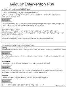 The Bender Bunch: Creating a Behavior Intervention Plan (BIP)