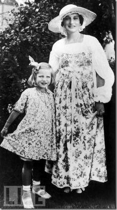 Big Edie with Little Edie Beale