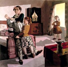 Paula Rego, frictions in the family example.