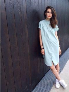 Платье-рубашка / Фотофорум / Burdastyle