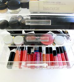 Your make-up and cosmetics need some a little Spring Cleaning, and we have just the thing for you, Glamboxes! Primer Oil, Foundation Primer, Ashley Brooke Designs, Makeup Display, Spring Cleaning, Makeup Yourself, Eyeshadow, Make Up, Fancy