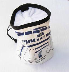 R2D2 Star Wars - Rock Climbing Chalk Bag
