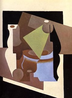 Still Life with Lamp by Juan Gris