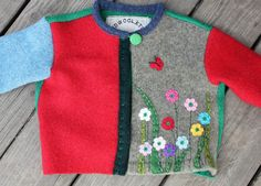 Recycled sweater... How adorable is this???