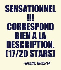 """Sensationnel !!! Correspond bien a la description."" - josette, 18/20/2014, french owner of #EuropeMagicWand wand massager. #17outof20 stars for @EuropeMagicWand. Get more info at www.europemagicwand.fr"