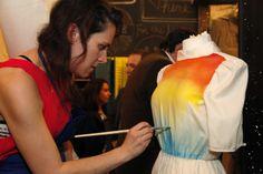 Clothes colours paint.  #DYI