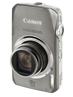 Canon IXUS 1000 HS Digital Camera (High Sensitivity 10 Megapixel, 10x Zoom, 3.0 inch LCD Screen) - Silver:Amazon:Camera & Photo