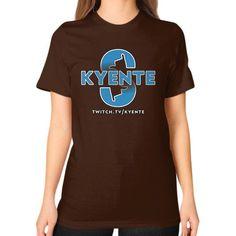 SurfsUp Kyente Unisex T-Shirt (on woman)