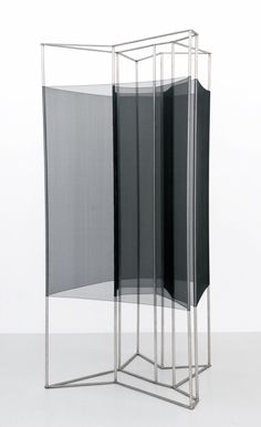 Tove Storch | Untitled, 2011 | stainless steel and silk