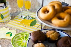 Doughnuts and Lemons
