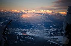 Sunrise over Revelstoke, BC