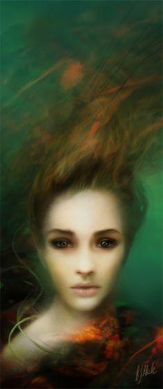 Mermaid face