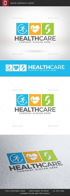 Health Care Logo Design Template Vector #logotype Download it here: http://graphicriver.net/item/health-care-logo/12472262?s_rank=1793?ref=nexion