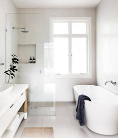 Perfect bathroom via death by elocution