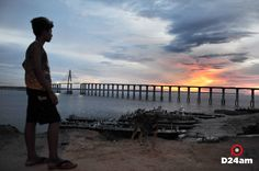 Foto: Eraldo Lopes / D24am #sunset #RioNegro #Manaus #Amazonas