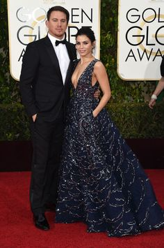 Channing Tatum and Jenna Dewan Tatum