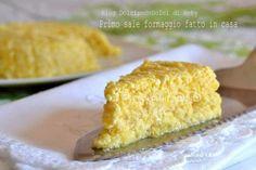 """Primo sale fatto in casa del Blog """"Dolci poco dolci"""" http://blog.giallozafferano.it/dolcipocodolci/primo-sale-formaggio-fatto-casa/"""