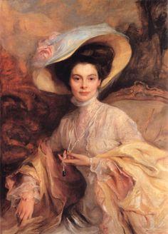 Crown Princess Cecilie of Prussia, Official Portrait of Philip de László of 1908