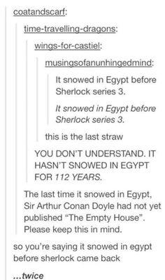 Things that happened before Sherlock season 3 was released