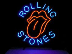 Rolling Stones Sticky Fingers Neon Sign