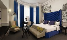 Peek inside London's New Ampersand Hotel | Dexter Moren Associates